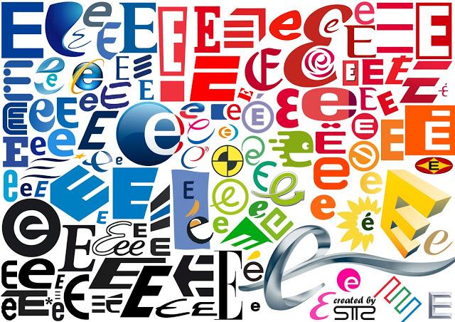 Typo lettre E-2